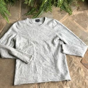 J. Crew black label Italian Cashmere grey sweater